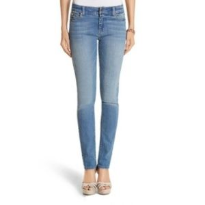 WHBM 'Saint Honore' mid-rise slim ankle jeans